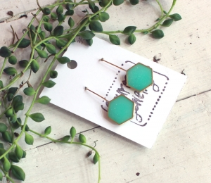 hex earrings mint.jpg