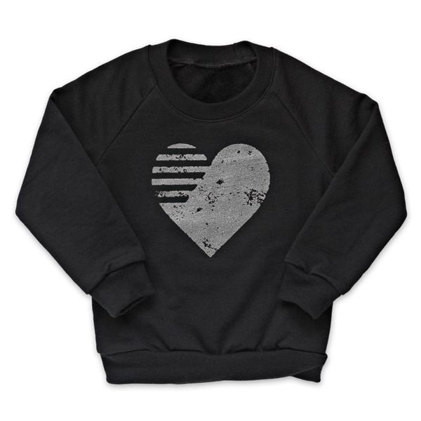 Heart Fleece Pullover - Copy