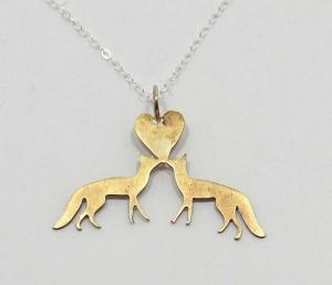 Fox Love Pendant
