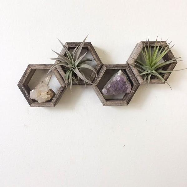 honey comb shelves 3