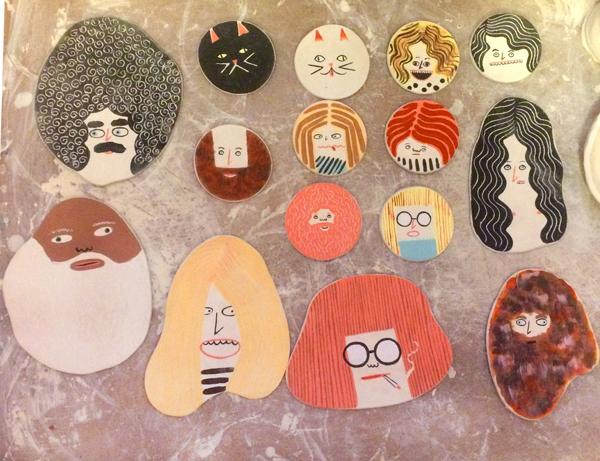 ceramic faces 600