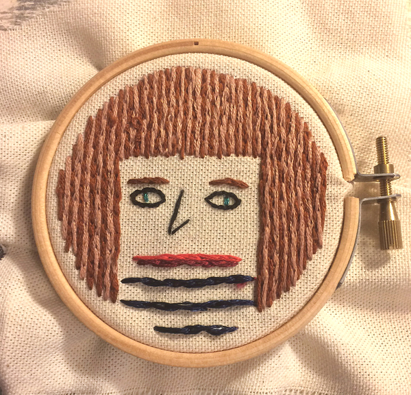 embroidered face600